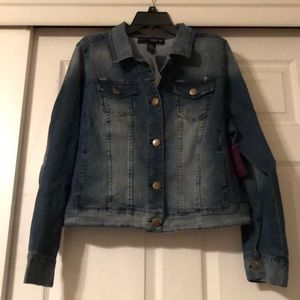 Venezia Lane Bryant denim jacket size 16